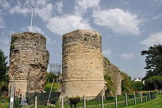 Bungay Castle castle in Suffolk