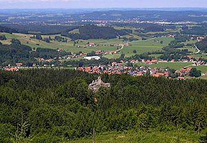 House of Waldburg - Ruins of Alttrauchburg castle