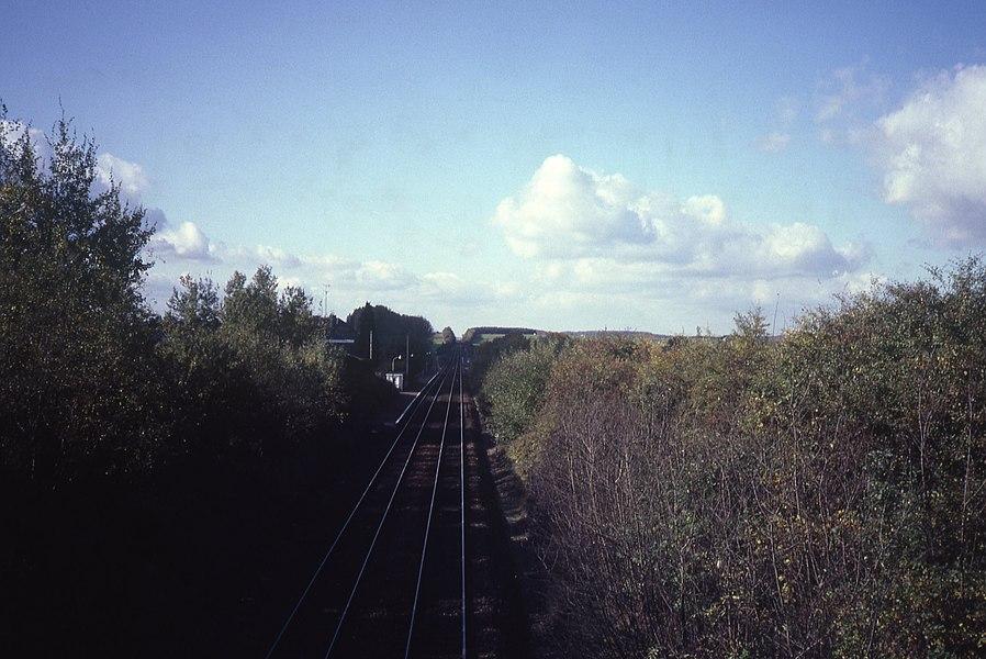 De voormalige Burhaimont halte op de spoorlijn 166. Deze lag dichter bij het centrum van Bertrix.