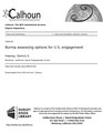 Burma assessing options for U.S. engagement (IA burmassessingopt109454748).pdf
