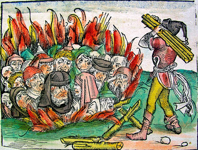 a descriptive comparison on the jews and anti semitism in the middle ages