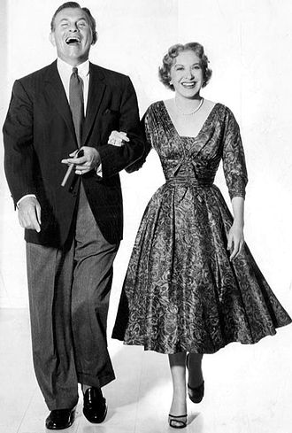 George Burns - George Burns and Gracie Allen, 1955.