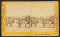 Burros and people on San Francisco Street, by Brown, William Henry, 1928- 2.png