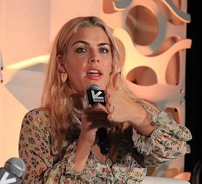 Busy Philipps, American actress