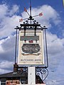 Butchers Arms Public House sign - geograph.org.uk - 1448337.jpg