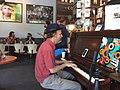 Bywater Bakery New Orleans April 2018 Tom McDermott piano.jpg