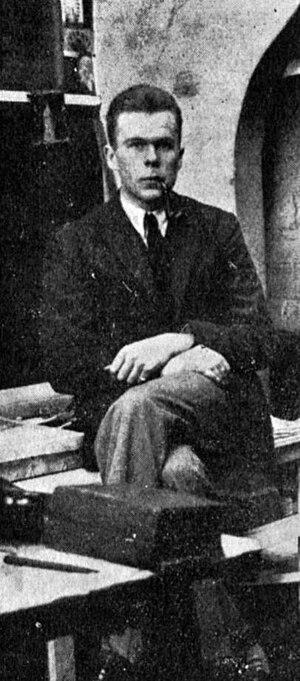 César Domela - Image: César Domela 1927