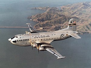 443d Airlift Wing - USAF C-124 Globemaster II