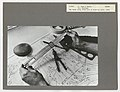 C.1966. Two hands using a slide rule at a drafting table. Maps and Charts. Region 6. Portland, Oregon. (34389378196).jpg