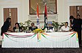 C.P. Joshi and the Minister of Local Government and Rural Development, Malawi, Mrs. Anna Kachikho signing an MoU on cooperation in the field of rural development, between India and Malawi.jpg