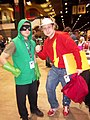 C2E2 (Day 2) 2014, Arrow and the Flash.jpg