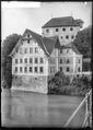 CH-NB - Kaiserstuhl (AG), Schloss Rötteln, vue partielle extérieure - Collection Max van Berchem - EAD-7075.tif