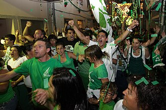 Póvoa de Varzim Holiday - Saint Peter Festival in Bairro Sul supporting their Rusga