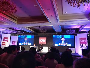 Ravi Agrawal - Image: CNN ABF 2017