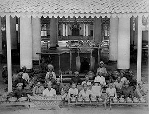 Gamelan - Gamelan orchestra (1870-1891)