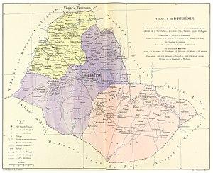 Diyarbekir Vilayet - Image: CUINET(1892) 2.434 Diyarbekir Vilayet