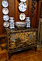 Cabinet of Chinese Coromandel lacquer, with ceramics - State Closet, Chatsworth House - Derbyshire, England - DSC03240.jpg