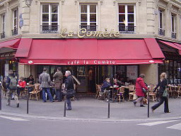 Café la Comète, Le Marais, Paris 13 April 2006