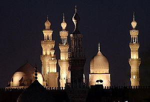 Islam in Egypt - Historical and ancient mosques in Cairo.