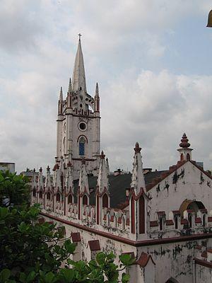 Church of the Lord Jesus, Kolkata - The Lord Jesus Church, at Taltala (Calcutta)