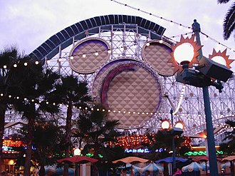 California Screamin' - Image: Calif Scrm Loop