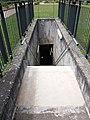 Caluire-et-Cuire - Parc des Berges de Saint-Clair - Escalier d'évacuation du tunnel périphérique nord intérieur.jpg