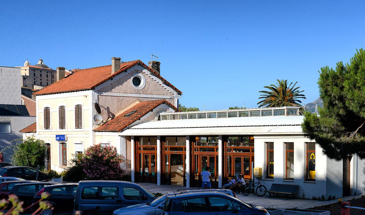 Gare de calvi wikip dia for Garage de la gare bretigny