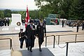 Canadian Minister of Defence, Harjit Sajjan, Lays a Wreath at the Tomb of the Unknown Soldier (34002444554).jpg