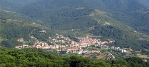 Cannalonga - The town of Cannalonga