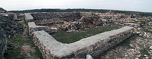 Capidava - Image: Capidava Ruins Panorama