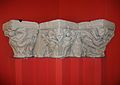 Capitells de la portada romànica de l'antiga parròquia de sant Tomàs de València, Museu de Belles Arts de València.JPG