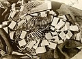 Captured enemy ammunition from a British raid in the Western desert, North African Campaign, WWII (37054662276).jpg