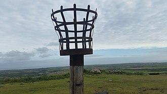 Chapel Carn Brea -  Mid-summer beacon