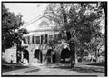 Caroline County Courthouse, U.S. Route 301 and Courthouse Lane, Bowling Green, Caroline County, VA HABS VA,17-BOGR,2-1.tif