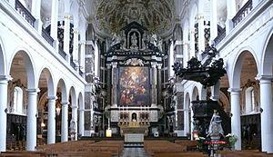 Pieter Huyssens - Image: Carolus borromeus interior