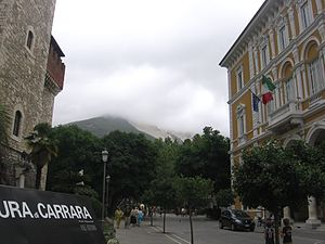 Panorama di Carrara