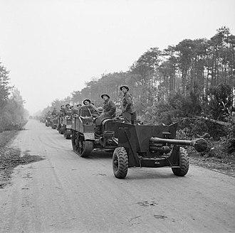 Gordon Highlanders - Men of the 2nd Battalion, Gordon Highlanders during the assault on Tilburg in October 1944.