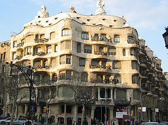 Confidant from the Batlló House - Image: Casa Mila