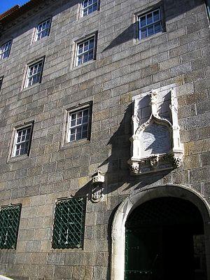 Casa do Infante - The front facade along the Praça do Infante D. Henrique