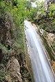 Cascata naturale di 30 metri -Senerchia Oasi naturale Valle della Caccia -Avellino 31.jpg