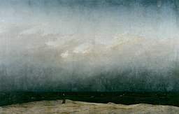 Caspar David Friedrich-Mnich nad morzem, 1810