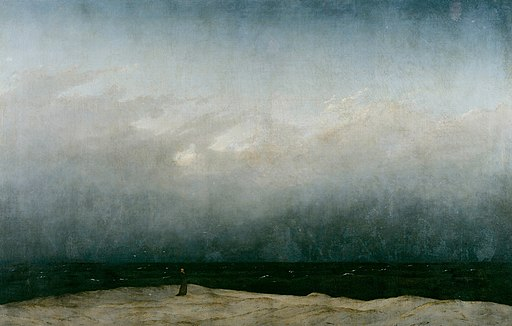 Caspar David Friedrich - Der Mönch am Meer - Google Art Project