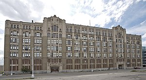 Cass Technical High School - Image: Cass Tech Old