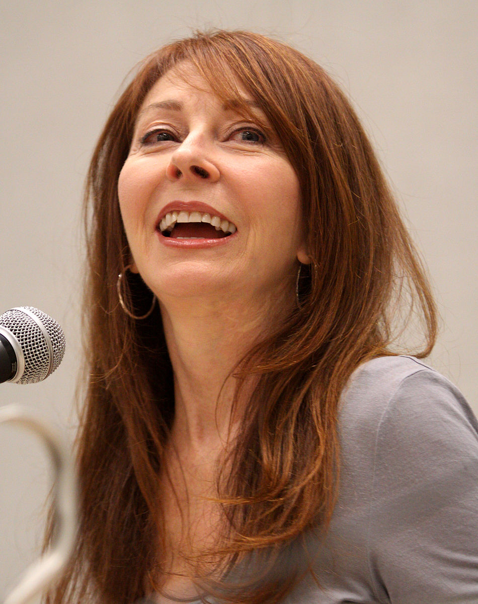 Cassandra Peterson, model on cover of