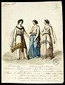 Cassandra e Glauca figlia di Creonte, figurino di artista ignoto per Medea (s.d.) - Archivio Storico Ricordi ICON009295.jpg