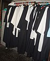 Cassocks hanging in the Church of St. Mary, Totnes - geograph.org.uk - 507241.jpg