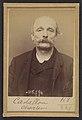 Castallou. Charles. 53 ans, né le 4-10-41 à Paris IIe. Tapissier. Anarchiste. 16-3-94. MET DP290267.jpg