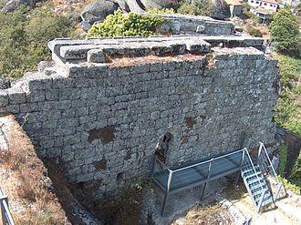 Alto Trás-os-Montes - The medieval ruins of the Castelo de Pena de Aguiar, in the municipality of Vila Pouco de Aguiar