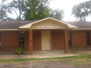 Jonesville, Louisiana - Image: Catahoula News Booster office in Jonesville, LA IMG 1179