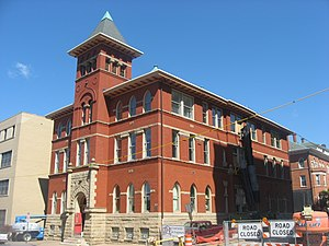 National Register of Historic Places listings in Ohio County, West Virginia - Image: Cathedral Parish School in Wheeling